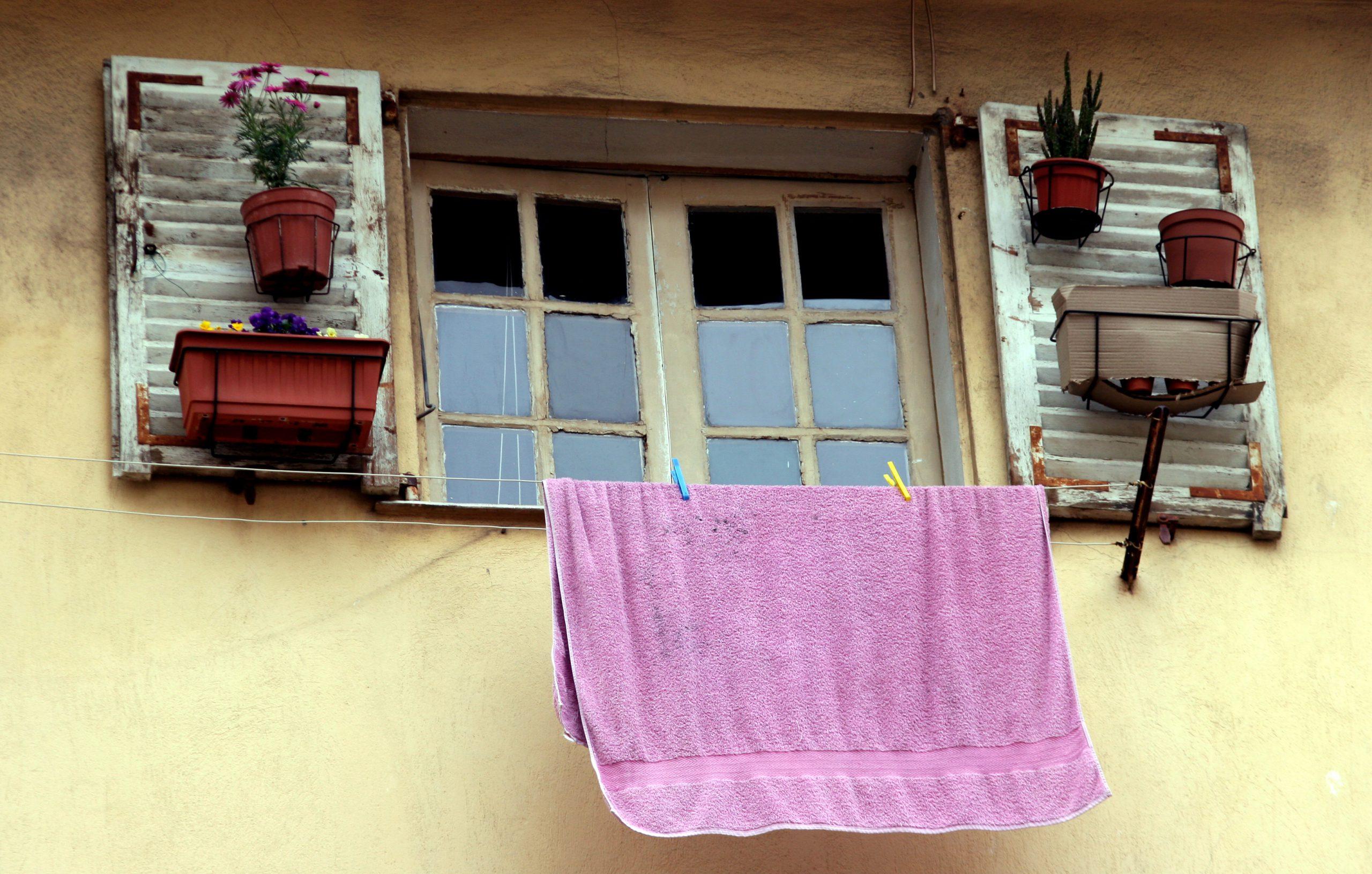 huis raam improvisatie